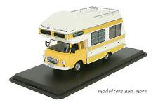 Barkas B1000 Wohnmobil - gelb / weiss - Baujahr 1973 - 1:43 IST Models 298