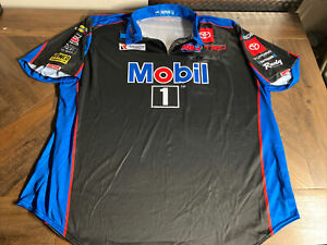 Kevin Harvick #4 MOBIL 1/Stewart Haas Racing Race Day Pit Crew Shirt - 4XL