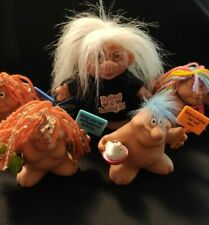 Huge Lot of Trolls Norfin etc Troll Collection Doll w Original Outfit 70's Dolls