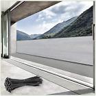 Colourtree 3' X 10' Grey Fence Privacy Screen Windscreen Cover Fabric Shade Tarp