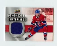 19/20 UPPER DECK SERIES 2 ROOKIE RC MATERIALS JERSEY *66797