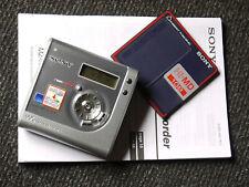 Sony MZ-NH700 - HI-MD MiniDisc - Net MD - MDLP - inkl. kpl. Zubehör