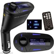 Nulaxy Wireless Bluetooth FM Transmitter Radio Car Kit Mp3 Music Player & 2 USB