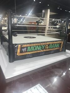 WWE Money in the Bank Playset Ring Structure Toy Action Figure Wrestling