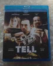 TELL (Blu-Ray, 2016) Milo Ventimiglia, Katee Sackhoff, Robert Patrick, Jason Lee