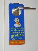 Türhänger Dekoschild Türschild Baby Bitte nicht stören Kinderzimmer Kinder