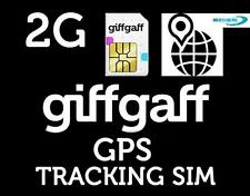 2 2G Sim Cards For 2G GPS Trackers Tracking PAYG GPRS style Old Type Sim Card
