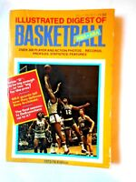1973-74 ILLUSTRATED DIGEST OF BASKETBALL NBA-ABA OVER 300 PLAYERS AND PHOTOS (VG