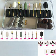 32pcs/set Nail Bits Set Kit Pro Electric Machine Manicure Pedicure Rotary Tools