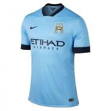 Nike Mens Soccer / Football Jersey M.C.F.C. Manchester City 611050 489 Medium