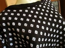 Large True Vtg 80s Valley Girl Oversize Knit Diamond Print Sweat Top Shirt