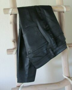 "NEW EILEEN FISHER  S (30"" waist) ORGANIC COTTON BLEND BLACK LEGGING JEANS, USA"