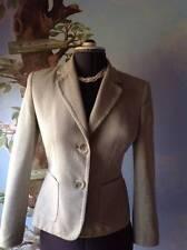 Kasper Long Beige and Green Long Sleeve Blazer Suit Jacket Size 6