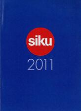 Prospekt Modellautokatalog Siku 2011 klein model cars D F GB Katalog Modellautos