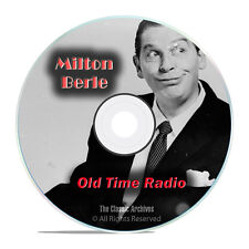 The Milton Berle Show, 495 Old Time Radio Comedy, Music Shows, OTR DVD G48