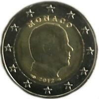 2 Euro Monaco 2012 Prince Albert II