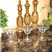 Margarita Glasses Set of Three Twisted Stems