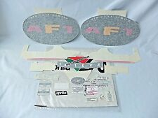 APRILIA AF1 50 FUTURA 91 SET ADESIVI CARENA CARENE DECAL FAIRING GIALLO VIOLA