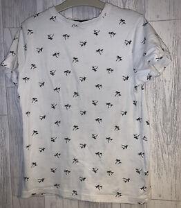 Boys Age 10-11 Years - Palm Trees T Shirt