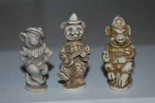 David Lawrence Figurines Mouse Bear Pig Harmony Kingdom Artist