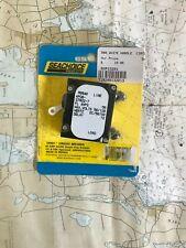 SEACHOICE 50A AC/DC WHITE HANDLE CIRCUIT BREAKER #13201