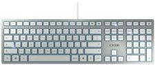 Cherry KC 6000 Slim USB Keyboard (Silver)