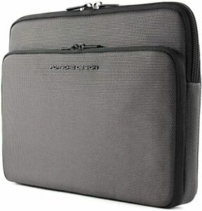 🇩🇪 PORSCHE DESIGN Laptop Hülle Tasche ROADSTER Case Grau Business Sleeve Black