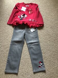 Disney Minnie Mouse Outfit 4-5 Years