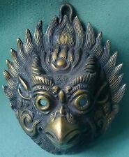 SOLID BRASS GARUDA EAGLE BIRD HEAD STATUE WALL HANGING HOME DECORATIVE PIECE