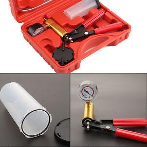 KFZ Vakuumpumpe Set Bremsenentlüfter Unterdruckpumpe Bremse Pumpe Druckprüfer