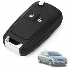REPLACEMENT 2 BUTTON REMOTE FLIP KEY FOB CASE FOR VAUXHALL OPEL ASTRA INSIGNIA