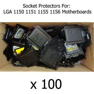 100 x Motherboard Protector Abdeckkappe für Sockel lga1150 1150 Prozessor/CPU