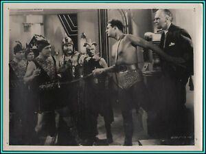 """RAY CORRIGAN & C.MONTAGUE SHAW in """"Under Sea Kingdom"""" - Original Photo 1936"""