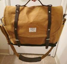sandqvist cross body messenger bag Brown Canvas