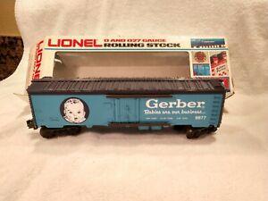 Lionel 6-9877 Gerber Baby Food Reefer Boxcar  NIB