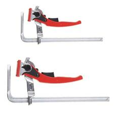 F-Shape Carpenter Clamps with Quick Release Ratcheting Featured for Woodworking