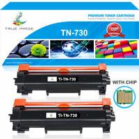 2x Toner Compatible with Brother TN730 MFC-L2750DW HL-L2730DW HL-L2350DW L2710DW