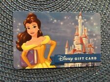 Belle Disney gift card collectible only - no $ value or points on it