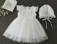 Baby Girl Christening Dress Girls Floral Lace Baptism Dress Lace Baby Girls