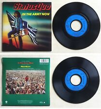 ** Status Quo Disque 45T vinyl 2 titres In the army now **