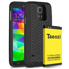 7800mA Extended Double layer Battery Back Cover TPU Case for Samsung Galaxy S5