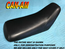 Bombardier Can Am DS50 DS90 New seat cover 2002-06 CanAm DS 50 90 Black 989B