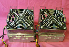 2 X HP Dual Rear Cooling Fans 367637-001 372213-001 Proliant G4 ML350
