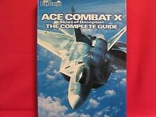 Ace Combat X complete guide book / PSP