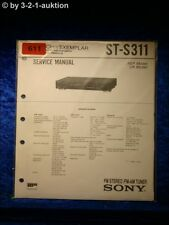 Sony Service Manual ST S311 Tuner  (#0611)