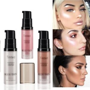 Foundation Makeup Face Body Luminizer Shimmer Liquid Foundation Lip Brighten Eye