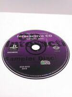 SONY PlayStation PS1 PSOne Interactive Sampler CD Disc Volume Vol. 4 Fast Ship!