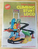 Climbing Stunt Loco With Tak Tak Sound Vintage Retro 70's 80's Complete Boxed
