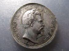REY LUIS II - LUDWIG II DE BAVIERA (1845 -1886) MEDALLA UNIFAZ