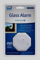 SABRE GLASS ALARM Window Sliding Patio Door Home Safety LOUD Break Vibration NEW